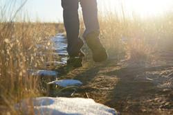 Melting trails