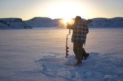 Ice fishing season is upon us