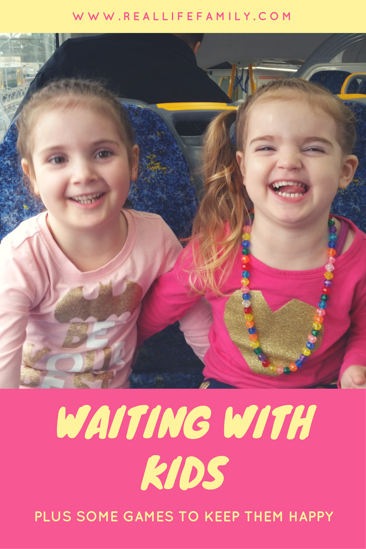 Travelling with kids,waiting with kids