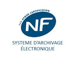 STRATOW est certifié NF461 archivage à valeur probante