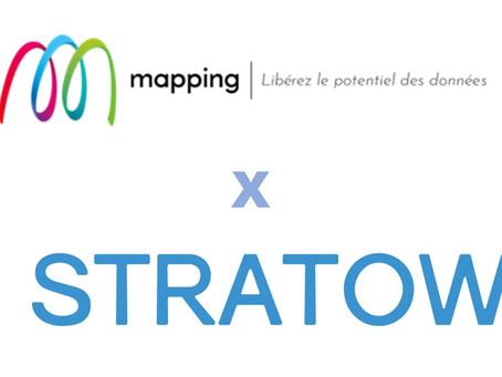Nouveau partenariat avec MAPPING SUITE pour STRATOW Folder