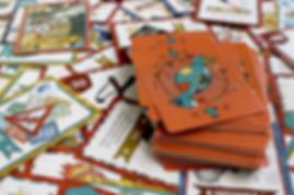 """Карточки из игры """"Оранж Квест"""". Колода карт """"Оранж Квест"""""""