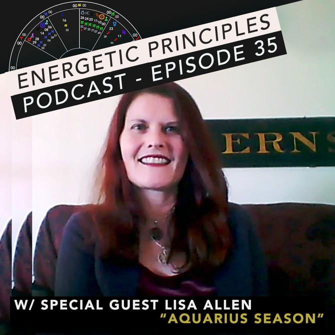 EP Podcast - Week of Jan 7th w/ Lisa Allen 💫