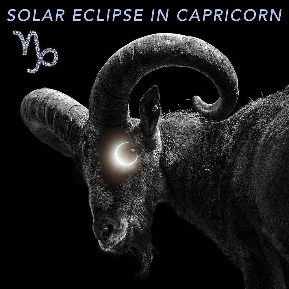 Solar Eclipse in Capricorn 2019 - Energetic Principles