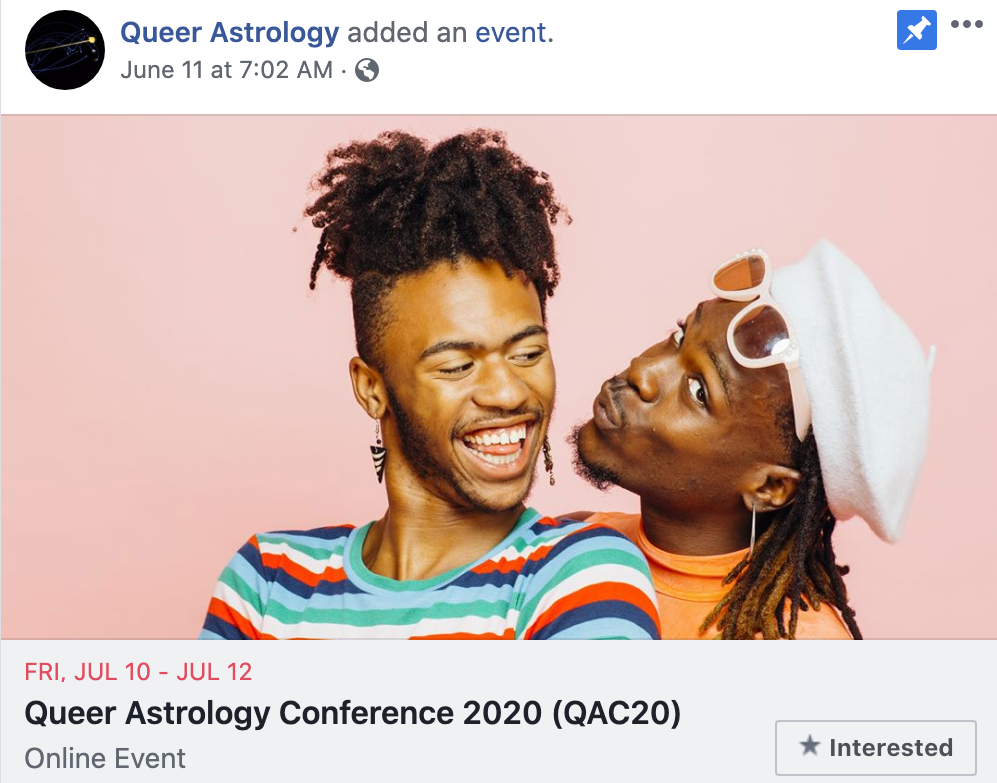 Queer Astrology Conference 2020 (QAC20)