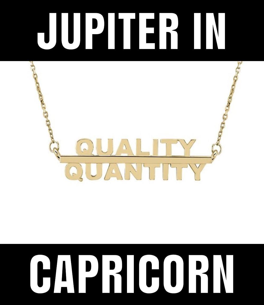 Jupiter in Capricorn Meme