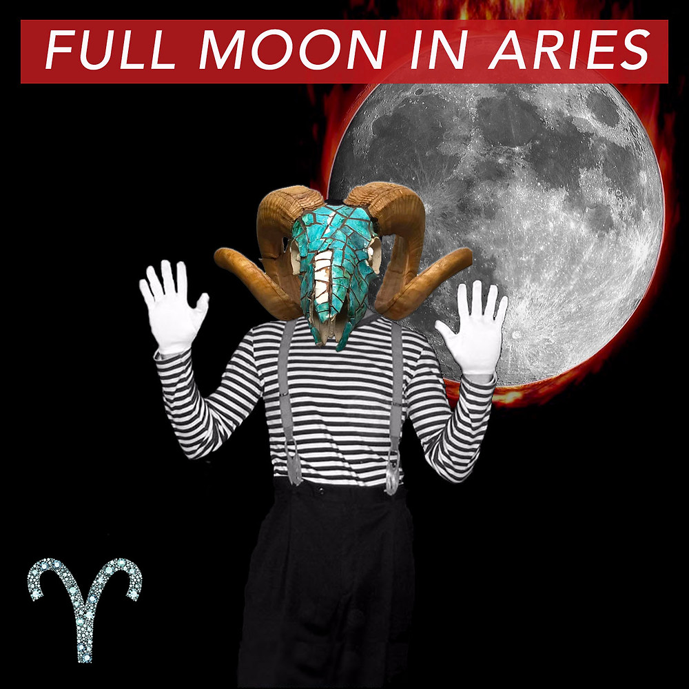 Full Moon in Aries 2018 - Energetic Principles