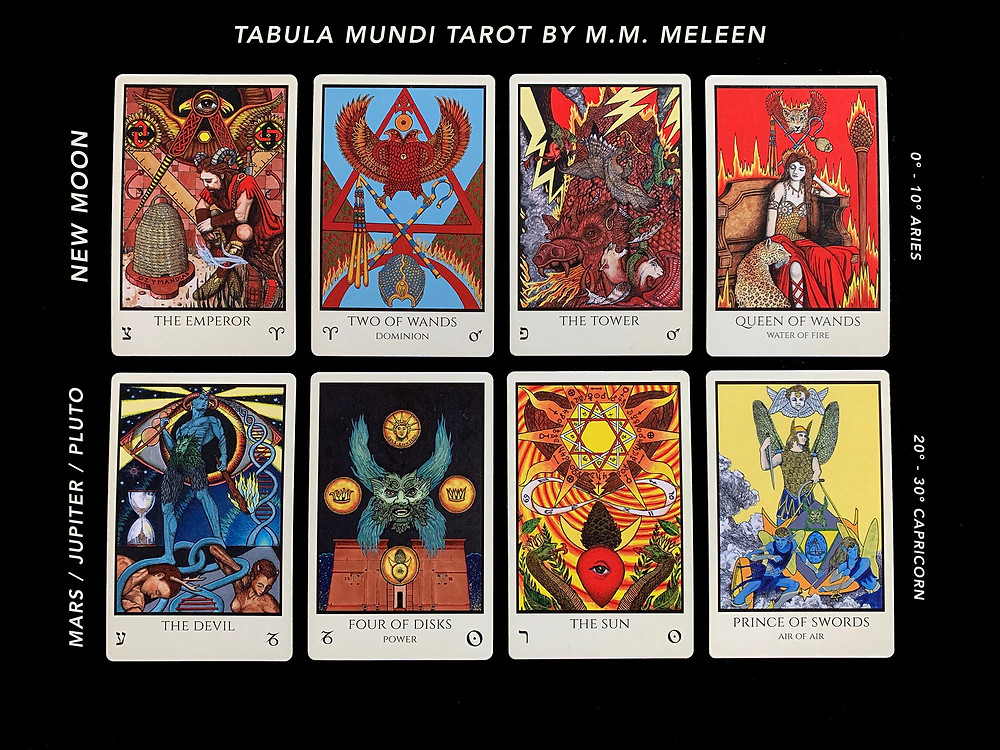 Tarot Cards for the New Moon in Aries - March 24th, 2020