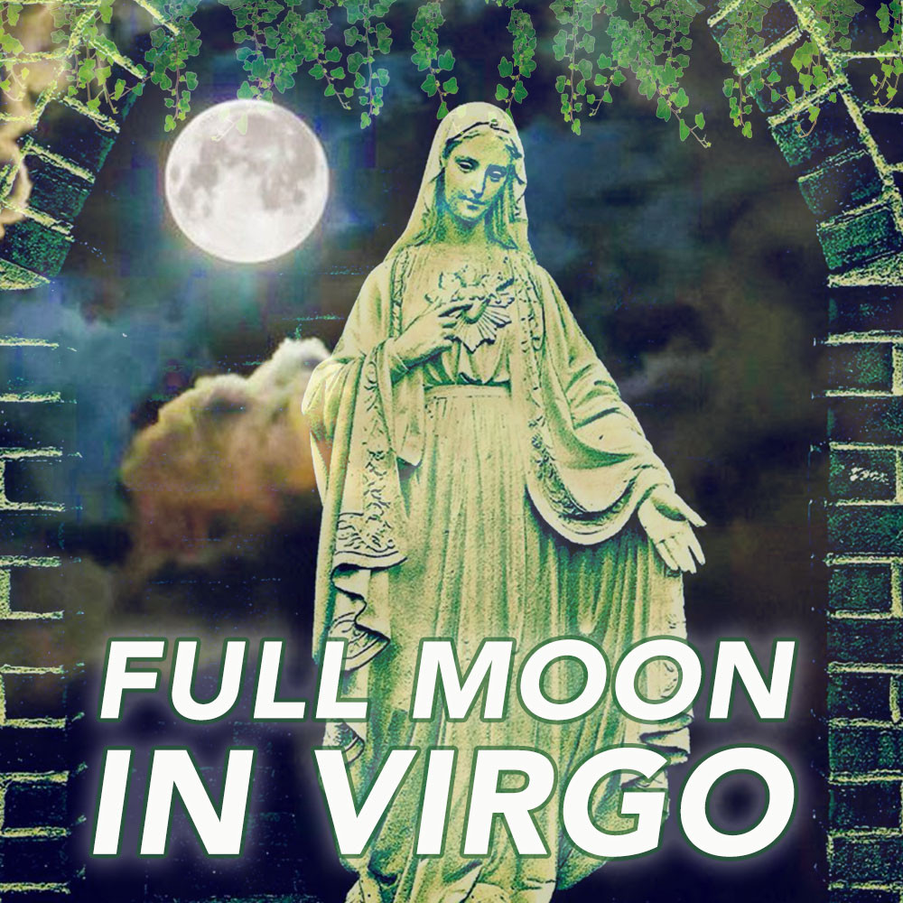 FULL MOON IN VIRGO 2018 - ENERGETIC PRINCIPLES