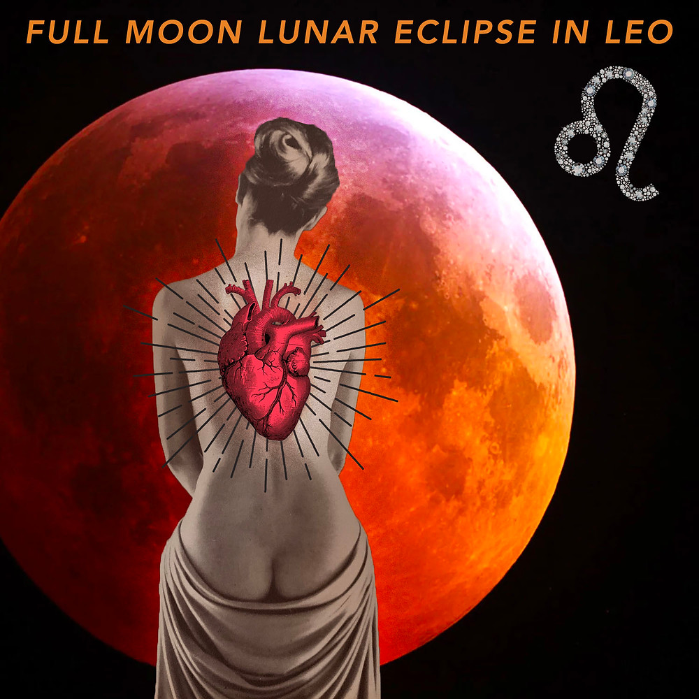 Lunar Eclipse in Leo 2019 - Energetic Principles