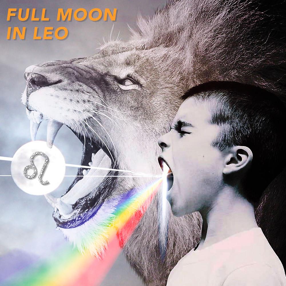 Full Moon in Leo 2020 - Energetic Principles