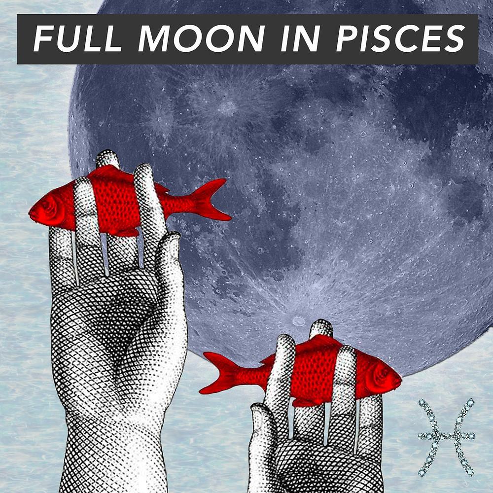Full Moon in Pisces 2018 - Energetic Principles
