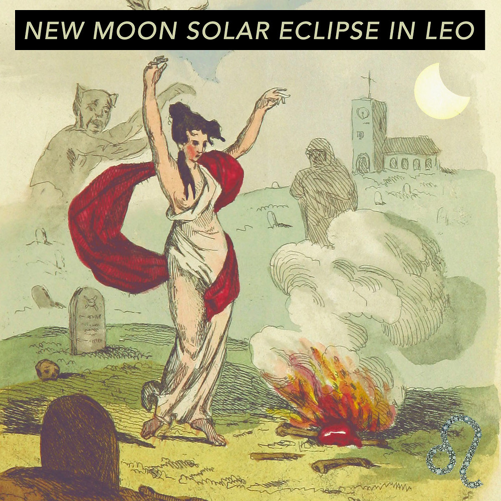 Solar Eclipse in Leo 2018 - Energetic Principles