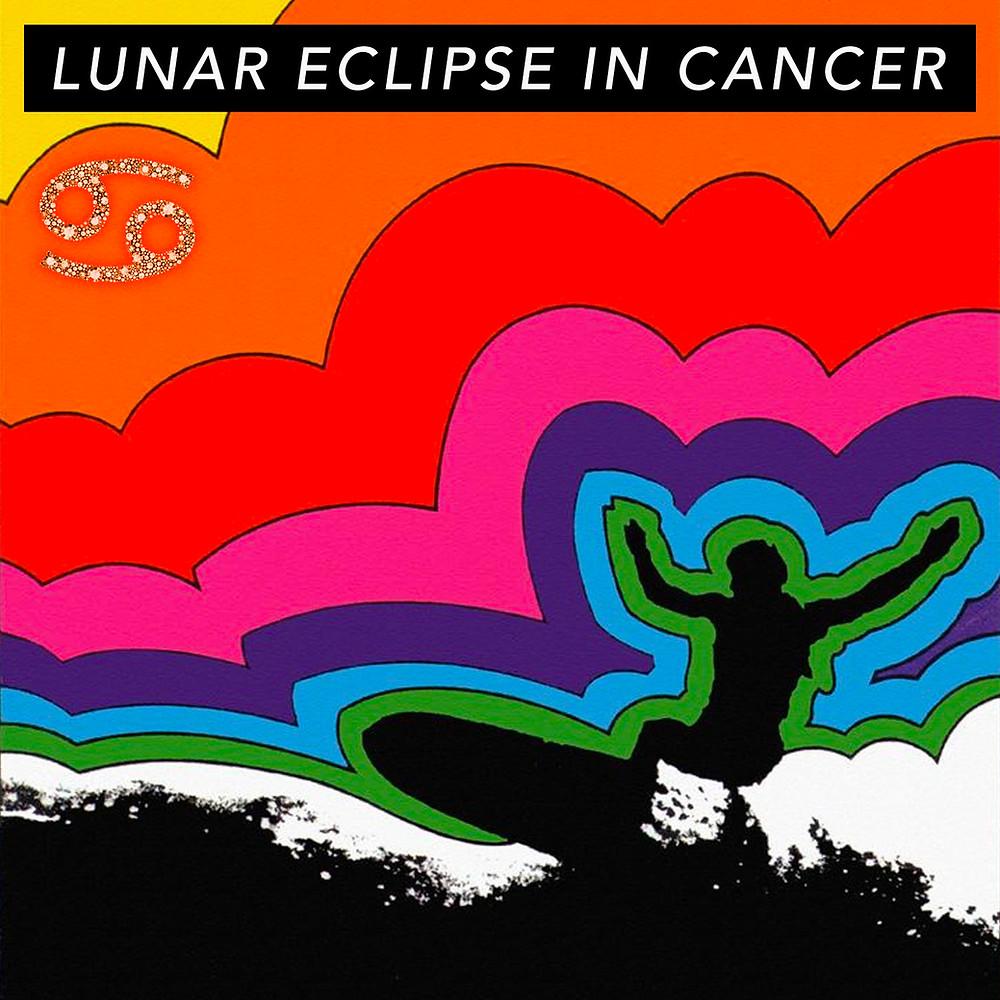 Full Moon in Gemini 2019 - Energetic Principles - Art by Tricia Scott