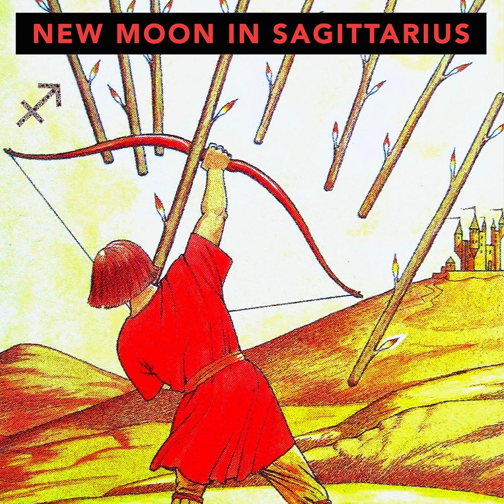 New Moon in Sagittarius 2019 - Energetic Principles