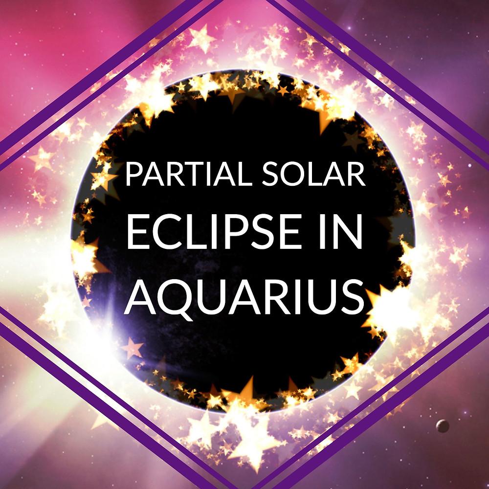Solar Eclipse in Aquarius 2018 - Energetic Principles