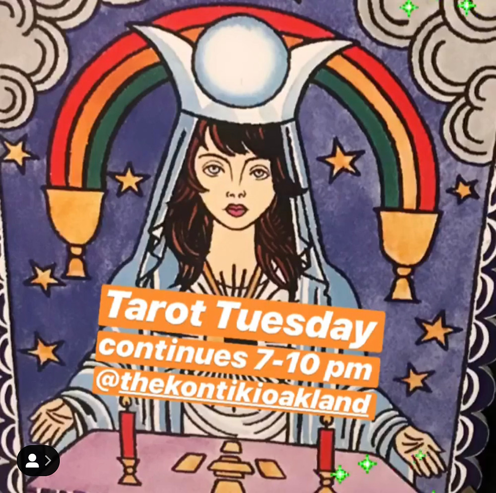 Tarot Tuesday with Cosmic Lady Six @ The Kon-Tiki Oakland