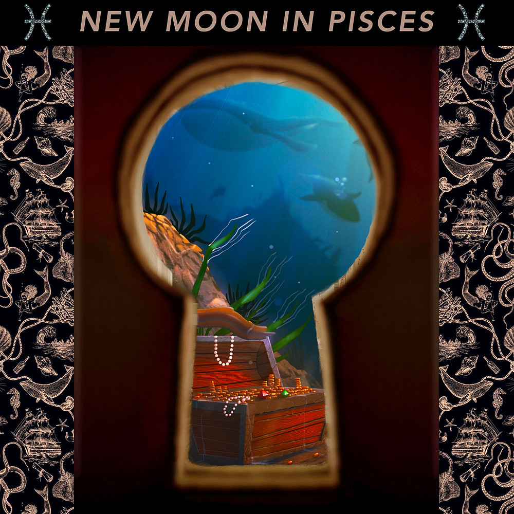 New Moon in Pisces 2020 - Energetic Principles