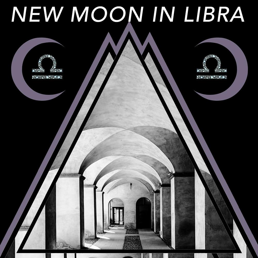 New Moon in Libra 2018 - Energetic Principles