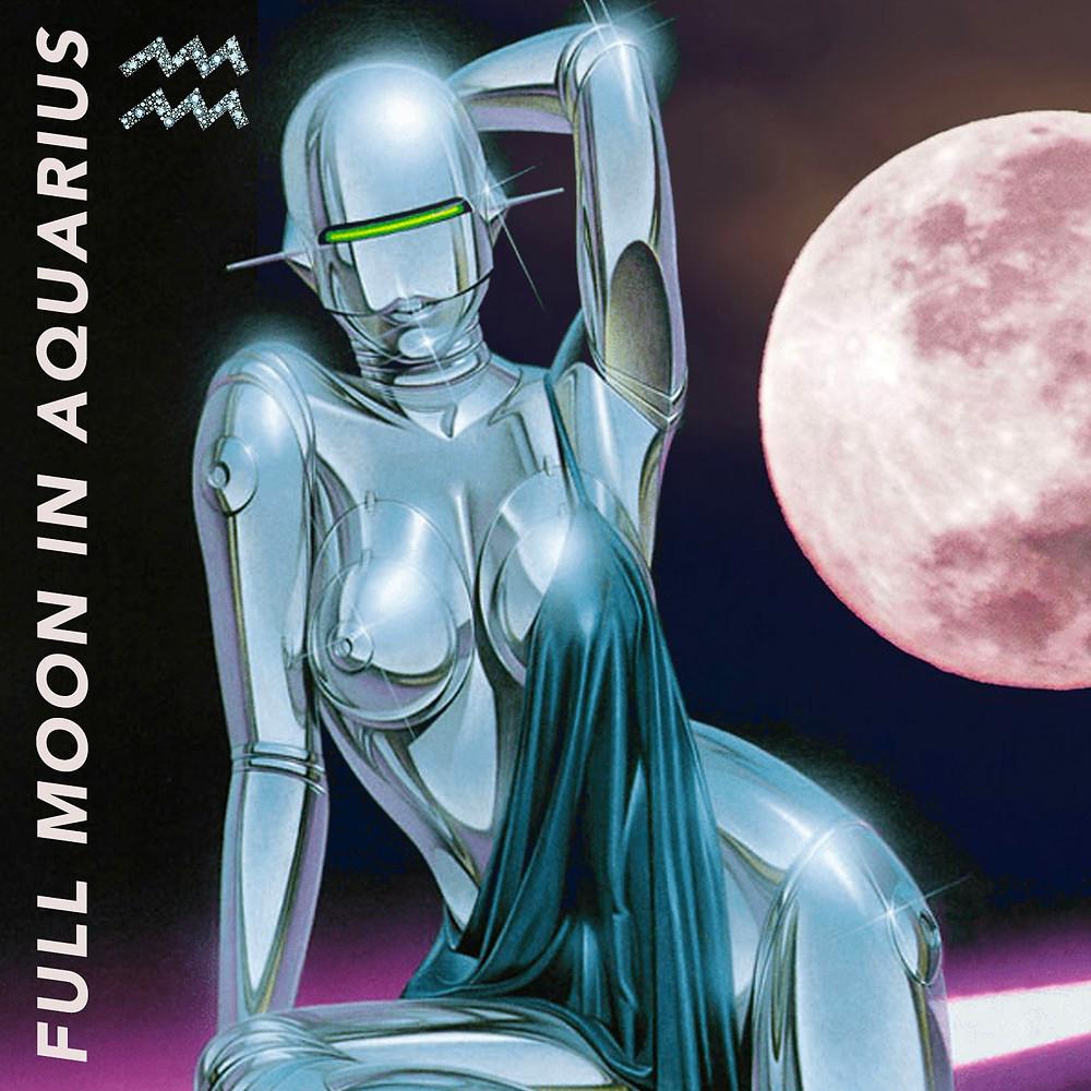 Full Moon in Aquarius 2019 - Energetic Principles