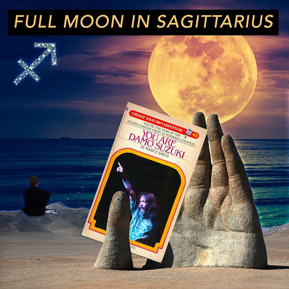 Full Moon in Sagittarius 2018 - Moving Beyond - Energetic Principles