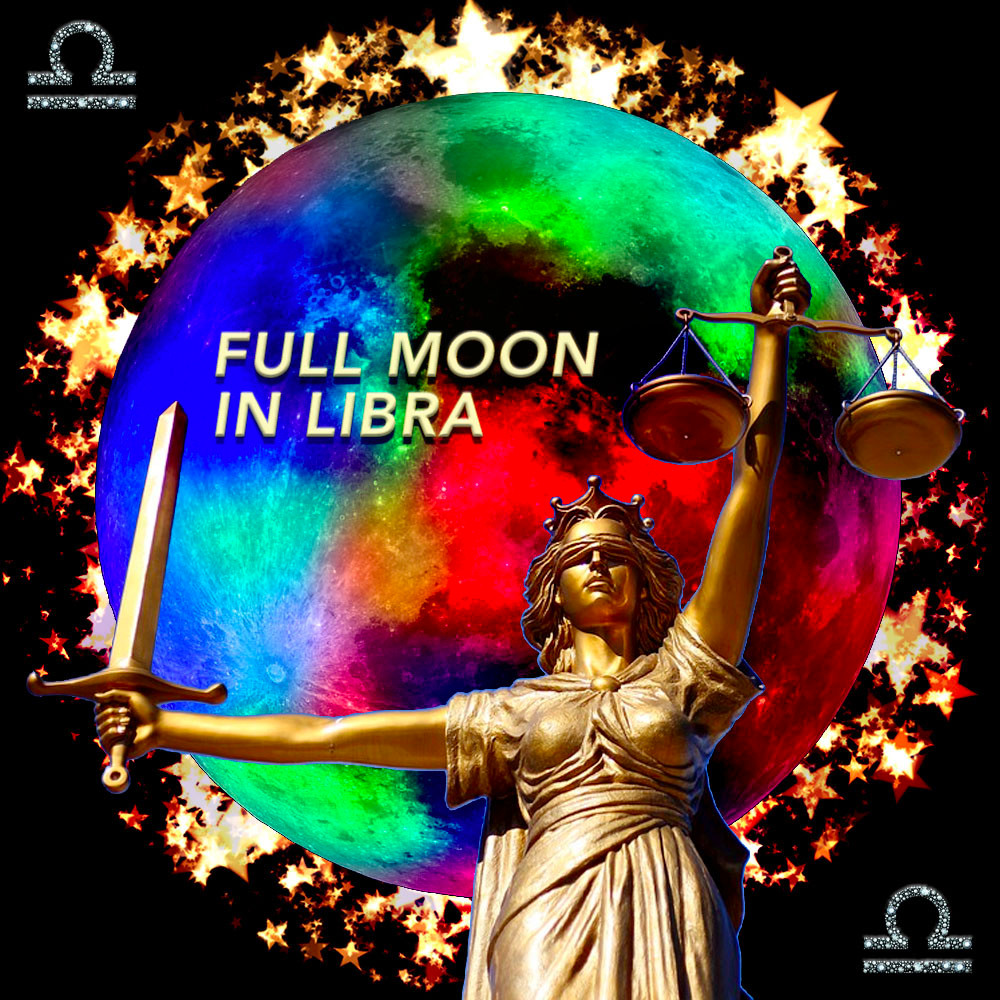 Full Moon in Libra 2018 - Regaining Balance