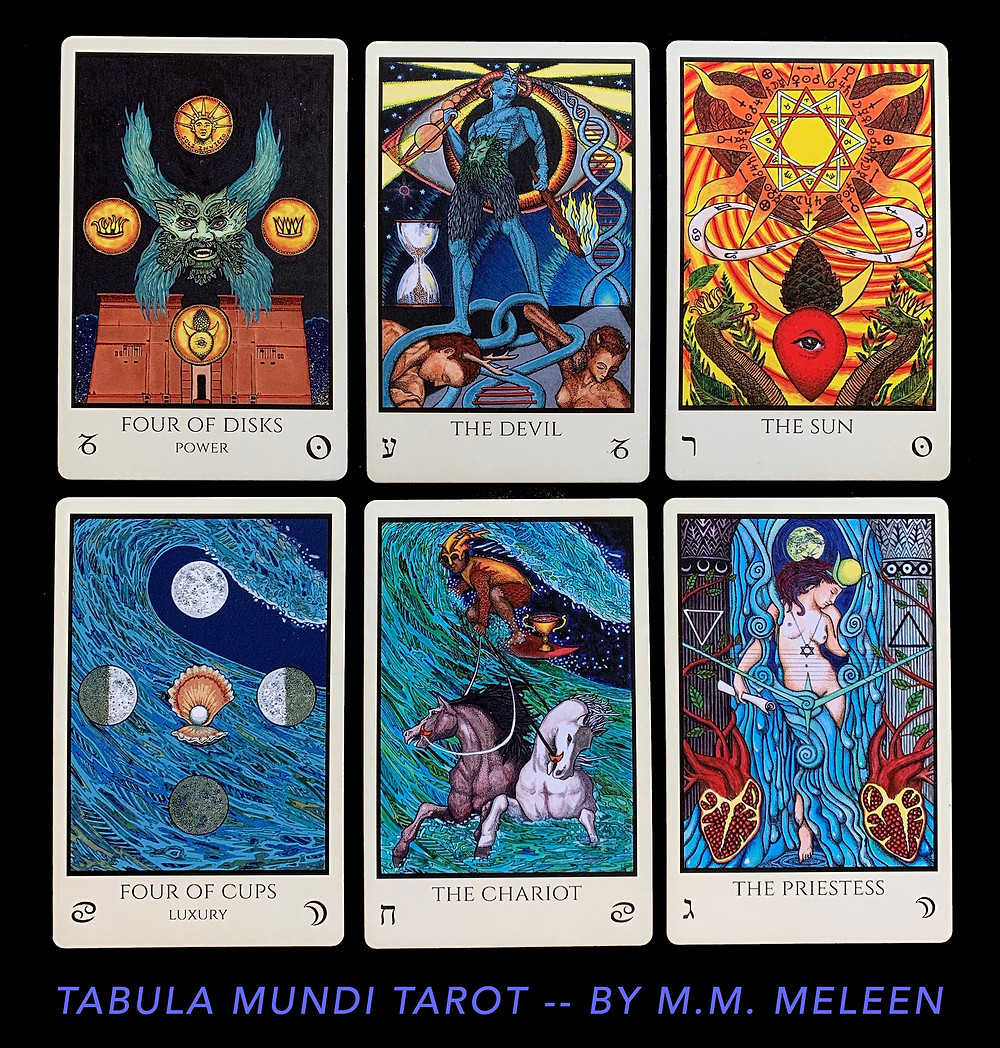 Tarot Cards for the Lunar Eclipse in Cancer - January 10th 2020
