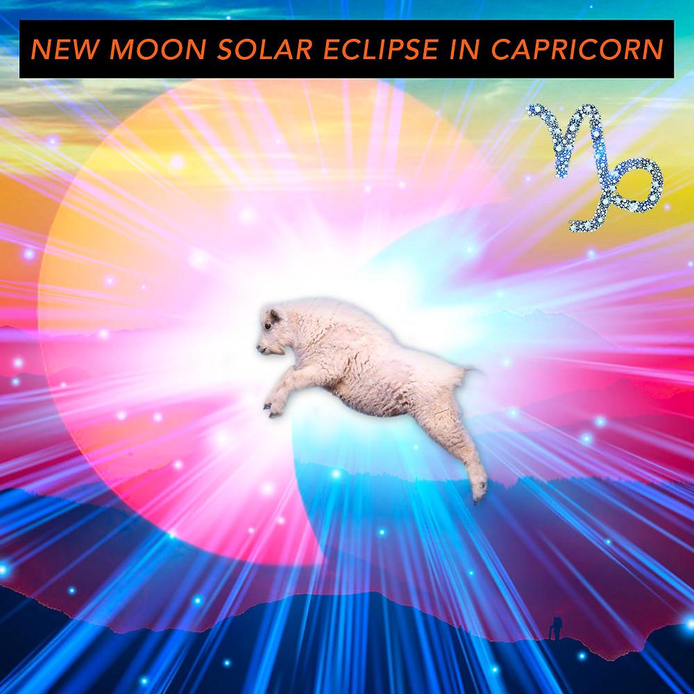New Moon in Sagittarius 2018 - Energetic Principles - Image from Dream Cards