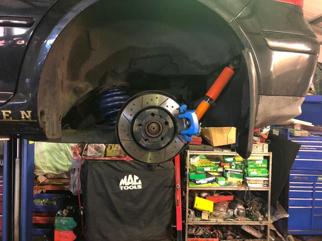 Mk4 Golf V6 4 Motion Brakes & Suspension