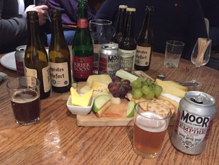 Beer & Cheese Pairing Evening.