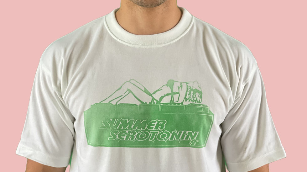 White/Green serotonin decks tee