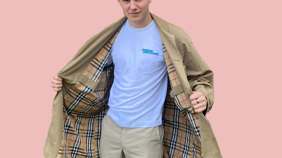 Burberry inspired mac/trench coat