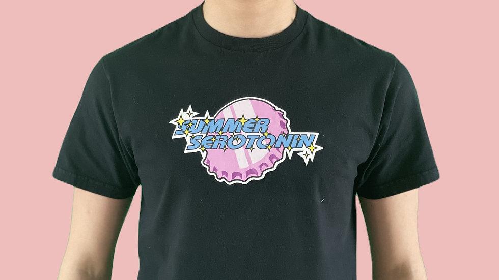 Black Summer Serotonin T-shirt