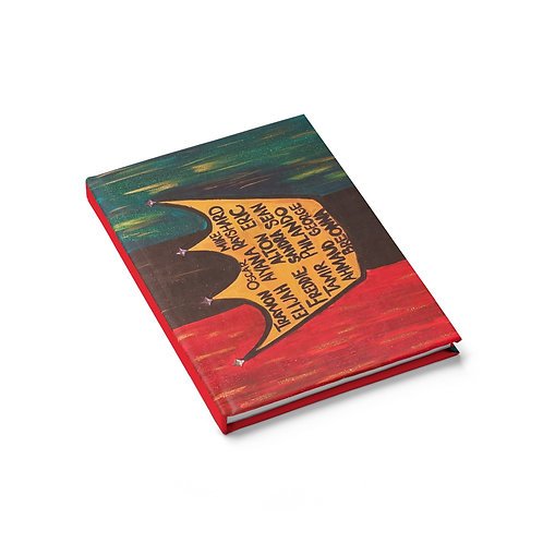 """BLACK ROYALTY"" Hardcover Journal"