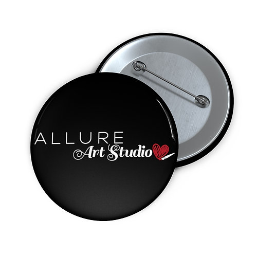 """ALLURE ART STUDIO"" Pin Buttons"