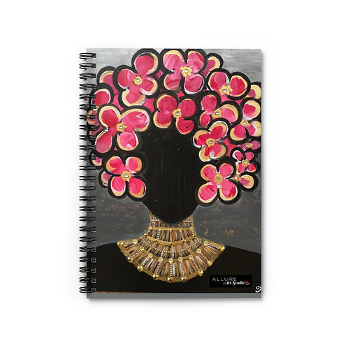 """SHE'S ROYAL"" Spiral Notebook"