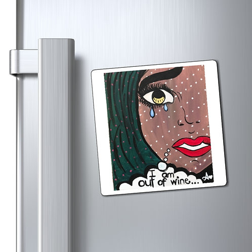 """POUR IT UP"" Magnet"