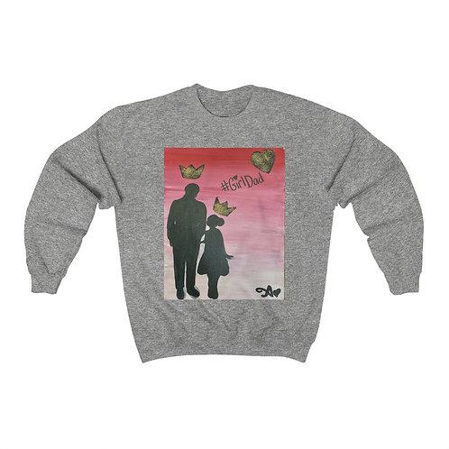 """""""GIRL DAD"""" Unisex Crewneck Sweatshirt"""
