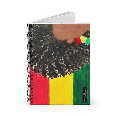 """ISLAND GAL"" Spiral Notebook"