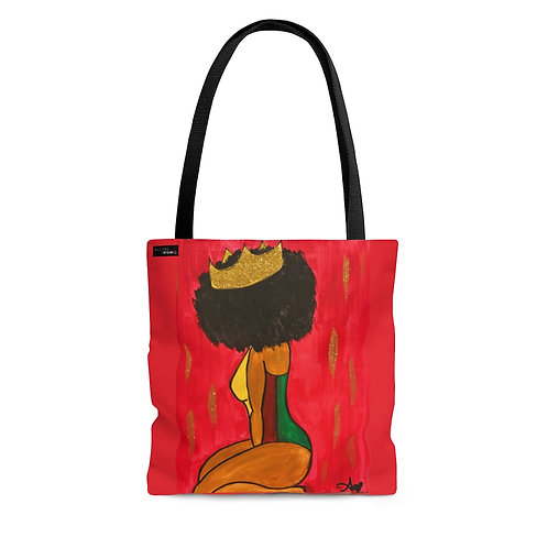"""BOW DOWN"" Tote Bag"