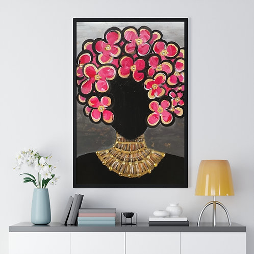 """""""SHE'S ROYAL"""" Framed Poster Print"""