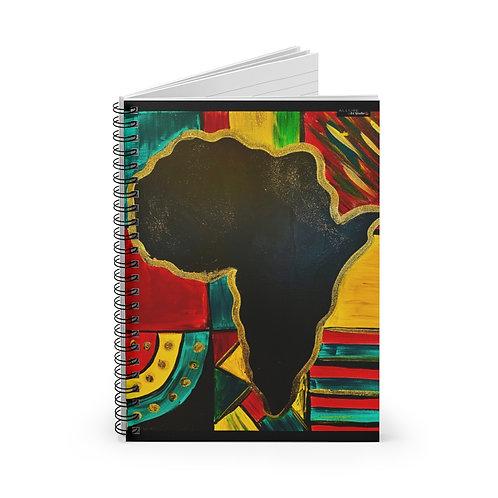 """MAMA AFRICA"" Spiral Notebook"