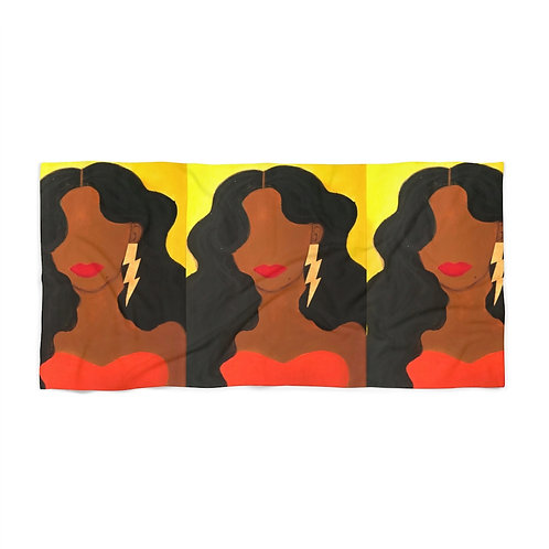 """HER ALLURE"" Beach Towel"