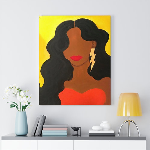 """HER ALLURE"" Canvas Print"