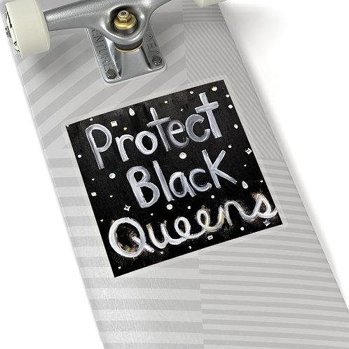 """""""BLACK QUEENS"""" Sticker"""