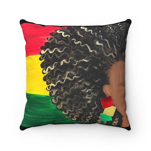 """ISLAND GAL"" Square Pillow"