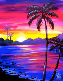 Bluelight Sunset