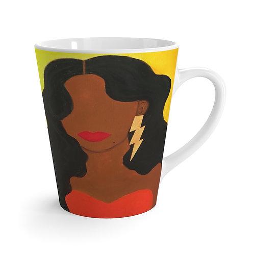 """""""HER ALLURE"""" Latte Mug"""