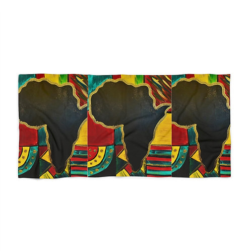 """MAMA AFRICA"" Beach Towel"