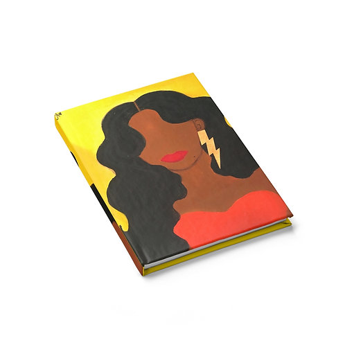 """HER ALLURE"" Hardcover Journal"